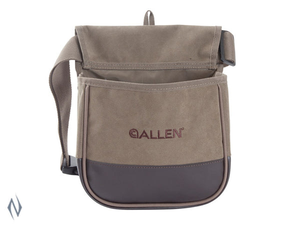 ALLEN SELECT CANVAS DOUBLE SHOTSHELL BAG WITH BELT - SKU: AL2306