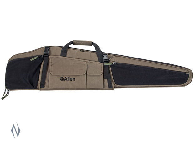 ALLEN DAKOTA SCOPED RIFLE CASE GREEN / BLACK 48 INCH - SKU: AL99748, 50-100, allen, ebay, Gun-Bags-Cases, rifle-bags-cases, Shooting-Gear