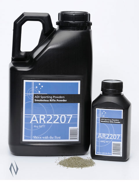 ADI AR2207 4KG - SKU: AR2207-4, 200-500, adi, Components, propellant-powder, Reloading-Supplies