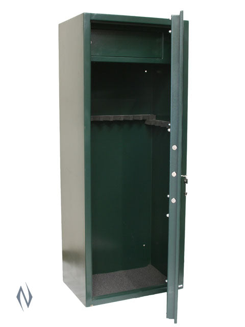 BIG IRON 14 GUN CABINET 1500 X 600 X 400 75KG - SKU: BIG-14 a  from BIG IRON sold by the best firearms store in Australia - Safari Firearms