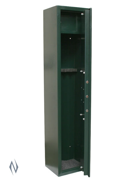BIG IRON 5 GUN CABINET 1500 X 340 X 280 50KG - SKU: BIG-5 a  from BIG IRON sold by the best firearms store in Australia - Safari Firearms