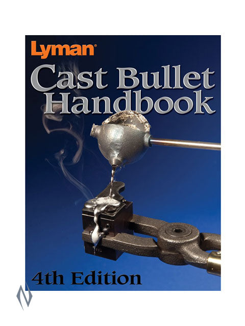LYMAN BOOK CAST BULLET #4 - SKU: BK-LYRBCB4 a  from LYMAN sold by the best firearms store in Australia - Safari Firearms