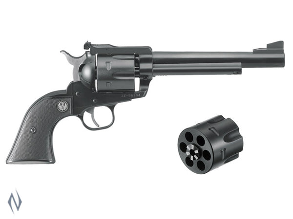 RUGER BLACKHAWK 9MM /357 BLUED CONVERTIBLE 165MM - SKU: BN36XL a  from RUGER sold by the best firearms store in Australia - Safari Firearms