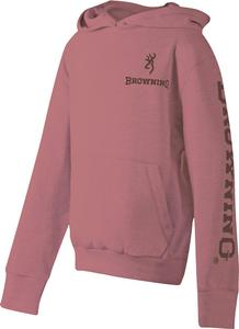 Browning Youth Hoodie Dusty Rose XL - SKU: BRI8511.194.XL - Size: XL, Amazon, Apparel, browning, ebay, size-xl, sweaters, under-50