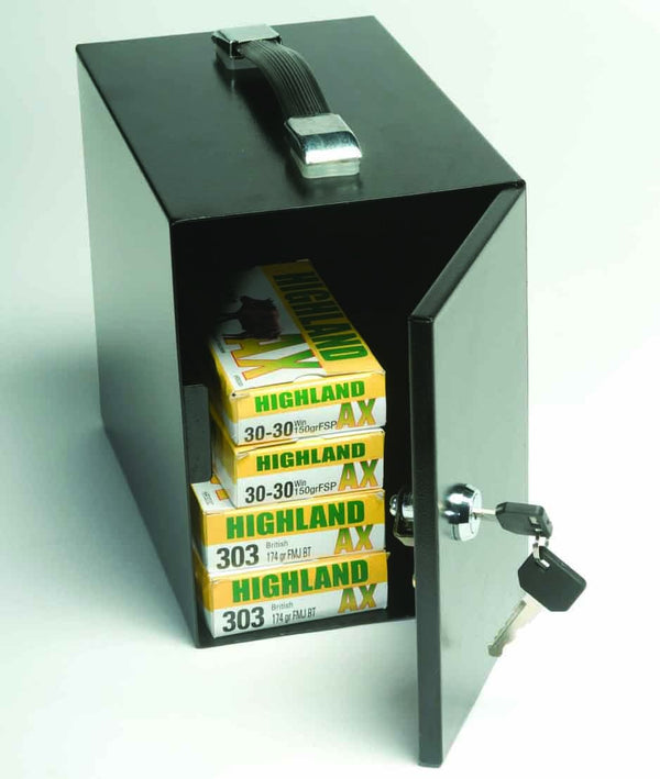 BUFFALO RIVER - Sportsman Series Ammunition Safe (155x265x225) (3kg) - SKU: BRS20