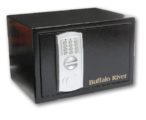 BUFFALO RIVER - Security LCD 250x230x350 & 2mm Wall 3mm Door Green 12kg - SKU: BRS23EF-G