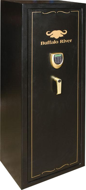 BUFFALO RIVER - Gold Safe 10 Gun Cat A+B LCD KEYPAD (1500x520x360) (95kg) - SKU: BRS4310