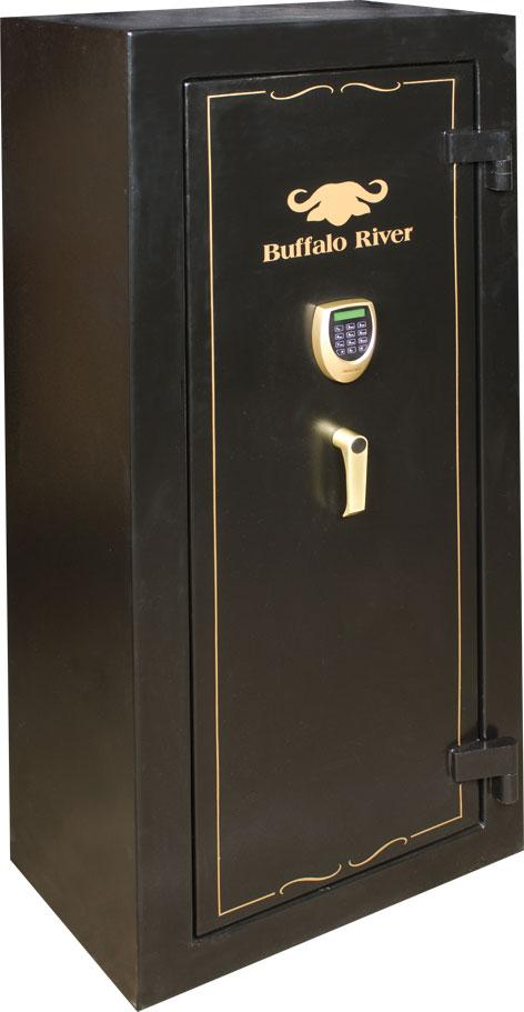 BUFFALO RIVER - Gold Safe 14 Gun Cat A+B LCD KEYPAD (1500x650x400) (113kg) - SKU: BRS5310