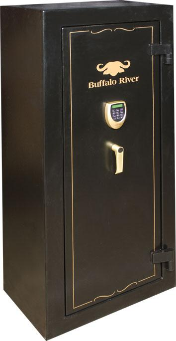 BUFFALO RIVER - Gold Safe 14 Gun Cat C NEW LCD KEYPAD (1500x650x400)(125kg) - SKU: BRS5320