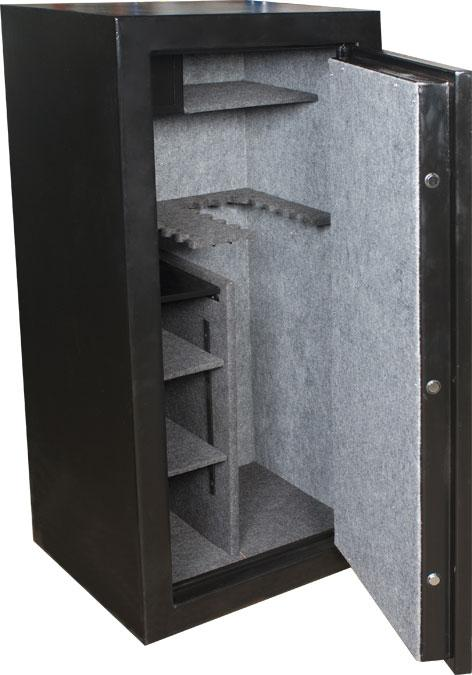 BUFFALO RIVER - Gold Safe 22 Gun Safe Removable Shelves Ammo Locker (213kg) - SKU: BRS9330