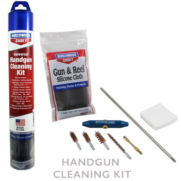 BIRCHWOOD CASEY STAINLESS HANDGUN CLEANING KIT - SKU: BW41601, 50-100, birchwood-casey, cleaning-kits, ebay, Gun-Cleaning, Shooting-Gear