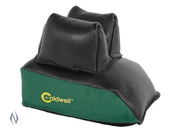 CALDWELL REAR BAG BLACK LEATHER UNFILLED - SKU: CALD-RBAG a  from CALDWELL sold by the best firearms store in Australia - Safari Firearms