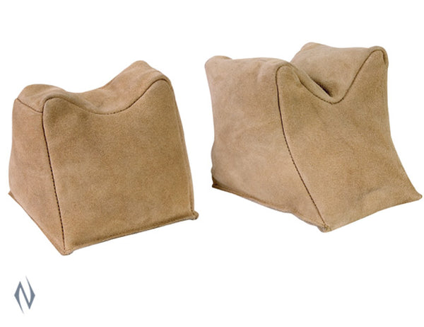 CHAMPION FILLED SUEDE SAND BAGS PAIR - SKU: CH40470 a  from CHAMPION sold by the best firearms store in Australia - Safari Firearms