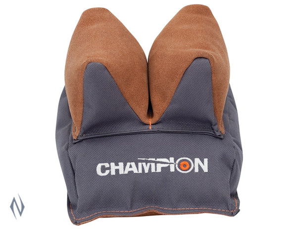 CHAMPION STEADYBAG REAR TWO TONE PREFILLED - SKU: CH40473, 50-100, champion, ebay, Shooting-Gear, shooting-rests-bags