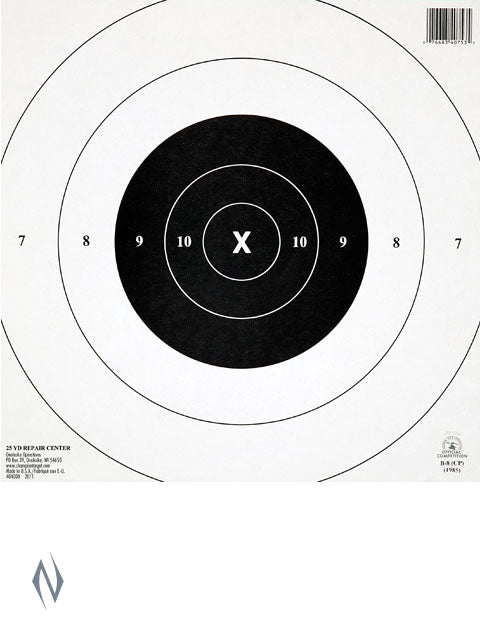 CHAMPION TARGET NRA 25YD TIMED & RAPIDFIRE CTR 12 PACK - SKU: CH40753