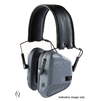 CHAMPION EAR MUFFS ELECTRONIC VANQUISH GREY - SKU: CH40978, 100-200, Amazon, champion, earmuffs-ear-plugs, ebay, Shooting-Gear