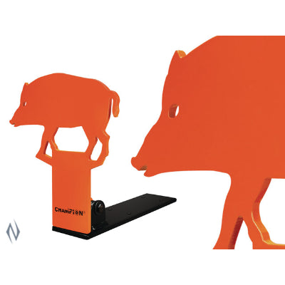 CHAMPION TARGET 22 METAL POP UP HOG - SKU: CH44887, Amazon, champion, ebay, metal-targets, Shooting-Gear, Targets-Target-Holders, under-50