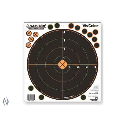 CHAMPION TARGET VISICOLOR ADHESIVE SIGHT IN 100YD 5 PACK + PATCHES - SKU: CH46132, Amazon, champion, ebay, paper-targets, Shooting-Gear, Targets-Target-Holders, under-50
