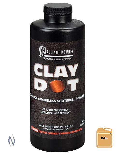 ALLIANT CLAY DOT 8LB 3.62KG - SKU: CLAYDOT-8 a  from ALLIANT sold by the best firearms store in Australia - Safari Firearms