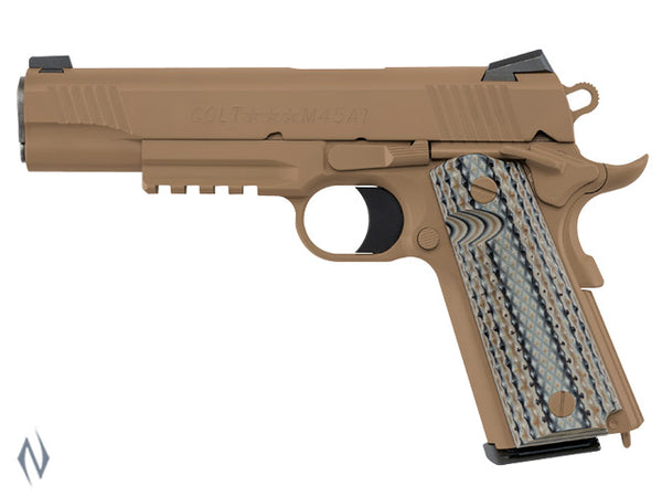 COLT 1911 RAIL GUN M45A1 45 ACP 127MM - SKU: CO1070M45 a  from COLT sold by the best firearms store in Australia - Safari Firearms