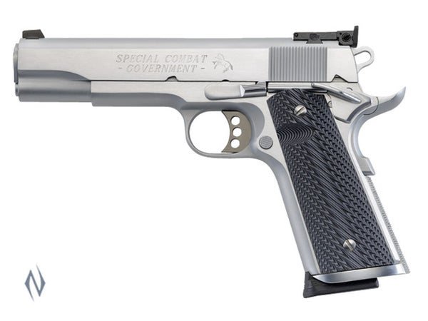 COLT SPEC COMBAT HARD CHROME 45 ACP 127MM - SKU: CO1970CM a  from COLT sold by the best firearms store in Australia - Safari Firearms