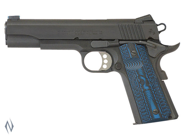 COLT 1911 GOVT COMPETITION BLUE 45 ACP 127MM - SKU: CO1980CCS a  from COLT sold by the best firearms store in Australia - Safari Firearms