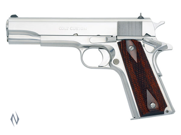 COLT 1991 GOVT BRIGHT STAINLESS 38 SUPER 127MM - SKU: CO2071ELC2 a  from COLT sold by the best firearms store in Australia - Safari Firearms