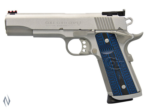 COLT GOLD CUP TROPHY STAINLESS 45 ACP 127MM - SKU: CO5070XE a  from COLT sold by the best firearms store in Australia - Safari Firearms