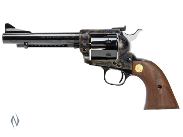 COLT NEW FRONTIER S/ACTION REVOLVER COLOUR CASE 45 COLT 140MM - SKU: CP4850