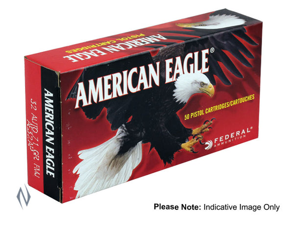 FEDERAL 9MM LUGER 124GR FMJ AMERICAN EAGLE - SKU: FAE9AP