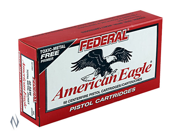 FEDERAL 9MM LUGER 124GR TMJ AMERICAN EAGLE - SKU: FAE9N1