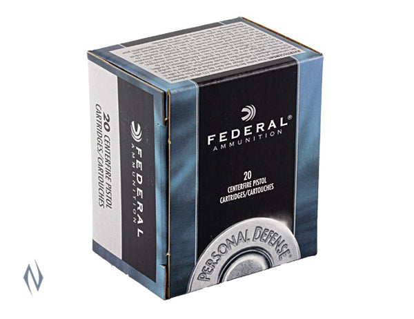 FEDERAL 357 MAG 125GR JHP PD - SKU: FC357B