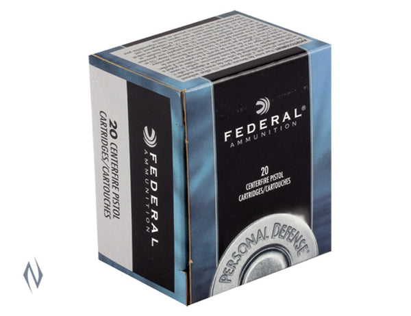 FEDERAL 357 MAG 158GR JHP PD - SKU: FC357E