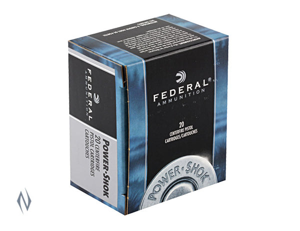 FEDERAL 44 MAG 180GR JHP POWER-SHOK - SKU: FC44B