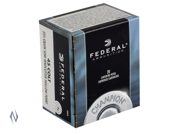 FEDERAL 45 LC 225GR SWC HP - SKU: FC45LCA