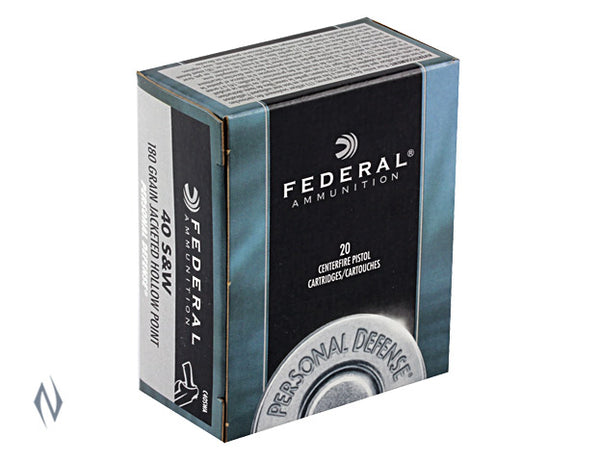FEDERAL 9MM LUGER 115GR JHP PD - SKU: FC9BP