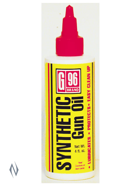 G96 SYNTHETIC LUBE 4 FL OZ - SKU: G96-1053 a  from G96 sold by the best firearms store in Australia - Safari Firearms