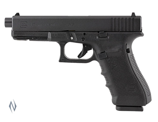 GLOCK 17A 9MM FULL SIZE 10 SHOT GEN4 122MM - SKU: GLOCK17AG4 a  from GLOCK sold by the best firearms store in Australia - Safari Firearms