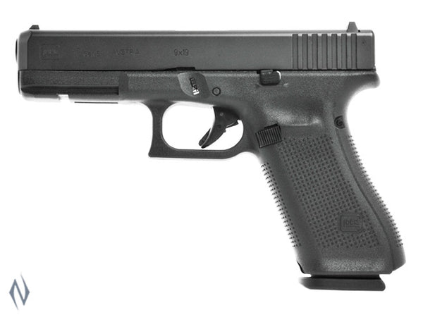 GLOCK 17 9MM FULL SIZE 17 SHOT GEN5 114MM - SKU: GLOCK17G5 a  from GLOCK sold by the best firearms store in Australia - Safari Firearms
