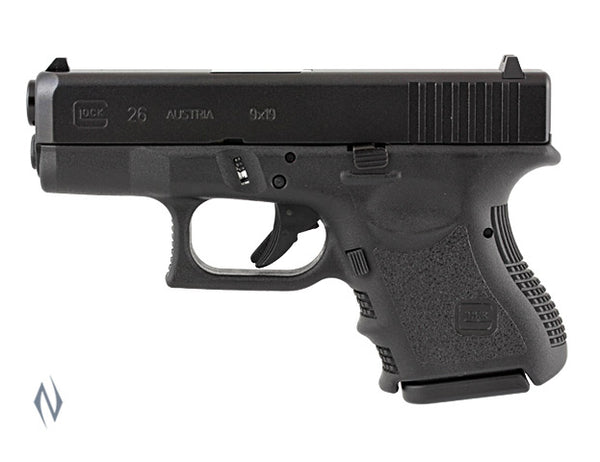 GLOCK 26 9MM SUB COMPACT 10 SHOT 88MM - SKU: GLOCK26 a  from GLOCK sold by the best firearms store in Australia - Safari Firearms