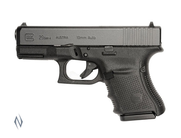 GLOCK 29 10MM SUB COMPACT 10 SHOT GEN4 96MM - SKU: GLOCK29G4