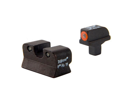 HIVIZ Interchangeable Glock Front & Rear Sight Set - SKU: GLT178, 100-200, ebay, front-sights-accessories, hi-viz, HIVIZ, Optics