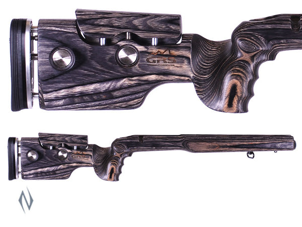GRS HYBRID STOCK BLANK BLACK - SKU: GRS101360 a  from GRS sold by the best firearms store in Australia - Safari Firearms