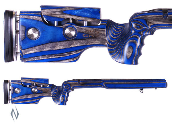 GRS HYBRID STOCK REM 700 BDL SA BLACK/ BLUE - SKU: GRS101778 a  from GRS sold by the best firearms store in Australia - Safari Firearms