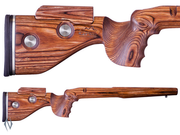 GRS HUNTER STOCK BLANK LH BROWN - SKU: GRS103540 a  from GRS sold by the best firearms store in Australia - Safari Firearms