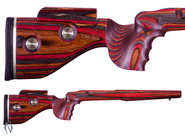 GRS HUNTER STOCK BLANK LH JACARANDA - SKU: GRS103542 a  from GRS sold by the best firearms store in Australia - Safari Firearms