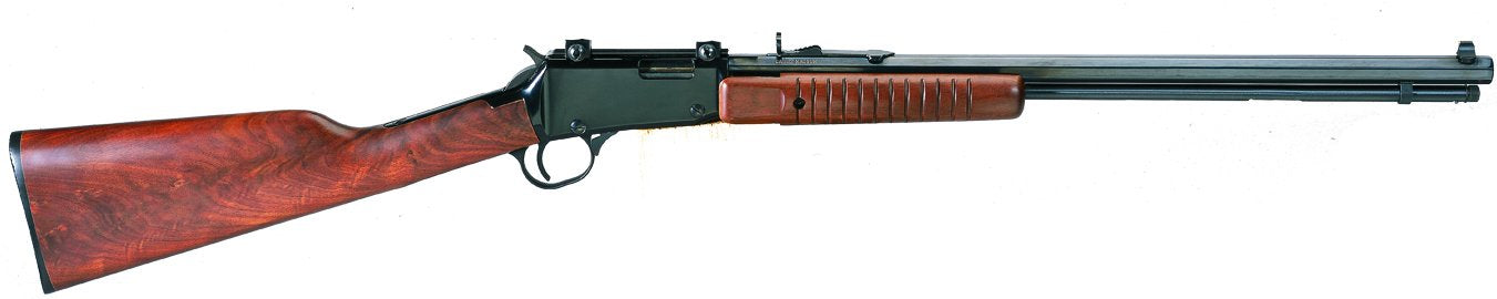 Henry - 22M Pump Action 11 ShotAmerican Walnut Oct Barrel - SKU: HEN003TM, 1000-2000, Firearms, henry, Lever-Rifles, Rifles