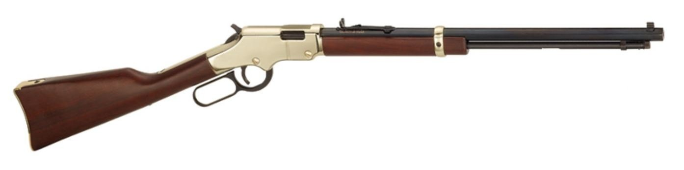 Henry - 17 HMR Golden Boy LeverAction 11 Shot American Walnut - SKU: HEN004V, 1000-2000, Firearms, henry, Lever-Rifles, Rifles
