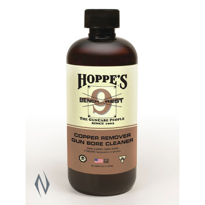 HOPPES NO 9 BENCHREST COPPER SOLVENT 1 PINT - SKU: HPBR916, 50-100, cleaners-degreasers, ebay, Gun-Cleaning, hoppes, Shooting-Gear
