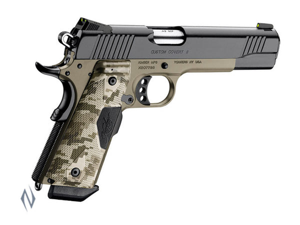 KIMBER 1911 CUSTOM COVERT II 45ACP - SKU: K-CCII a  from KIMBER sold by the best firearms store in Australia - Safari Firearms